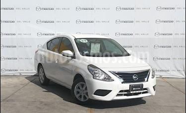 Nissan Versa Sense usado (2019) color Blanco precio $200,000