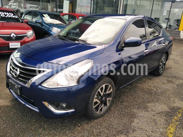 Nissan Versa 4P ADVANCE L4/1.6 MAN usado (2019) color Azul Marino precio $205,000