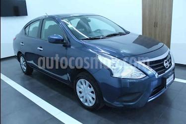 Nissan Versa Sense usado (2015) color Azul precio $129,000