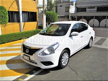 Nissan Versa Sense Aut usado (2016) color Blanco precio $129,900