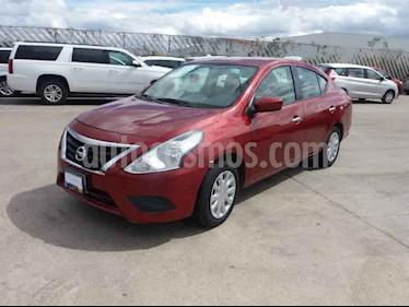 Nissan Versa 4p Sense L4/1.6 Aut usado (2018) color Rojo precio $159,800