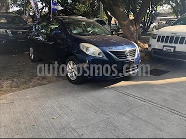 Nissan Versa Advance Aut usado (2014) color Azul Marino precio $160,000