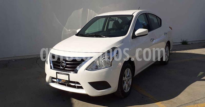 Nissan Versa Sense Aut usado (2019) color Blanco precio $159,800