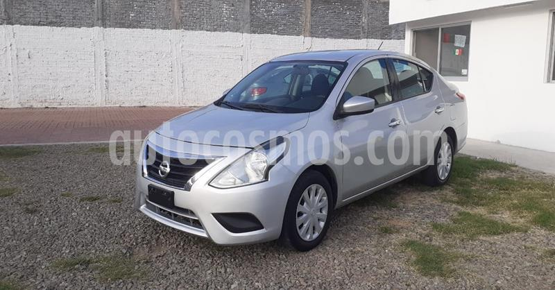 Nissan Versa Sense Aut usado (2018) color Plata Dorado precio $159,900