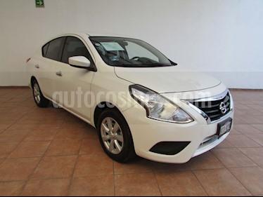Nissan Versa Sense usado (2019) color Blanco precio $170,000