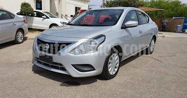 Nissan Versa 4p Sense L4/1.6 Aut usado (2018) color Plata precio $164,900