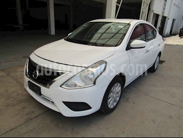 Nissan Versa 4p Sense L4/1.6 Aut usado (2017) color Blanco precio $62,000