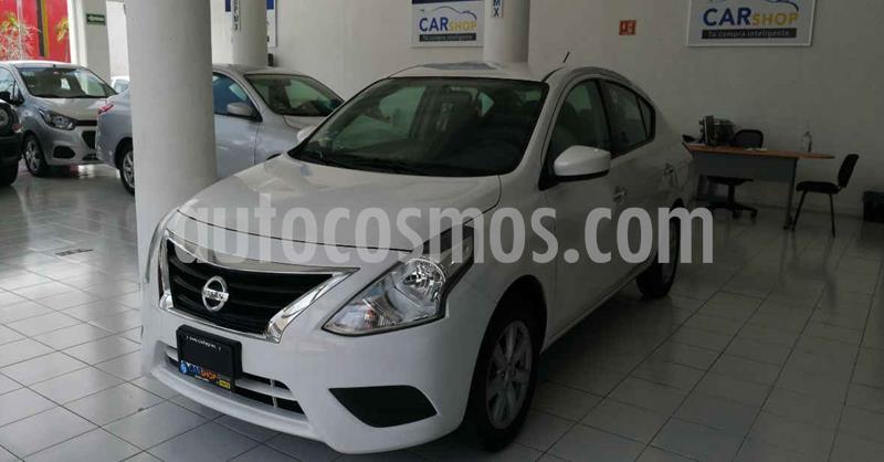 Nissan Versa 4p Sense L4/1.6 Aut usado (2019) color Blanco precio $169,900