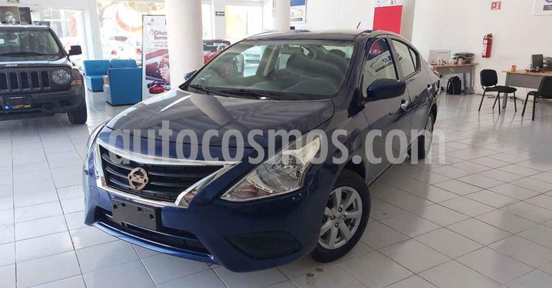 Nissan Versa 4p Sense L4/1.6 Aut usado (2019) color Azul precio $167,000