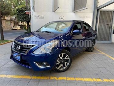 Nissan Versa 4p Advance L4/1.6 Man usado (2019) color Azul precio $220,000