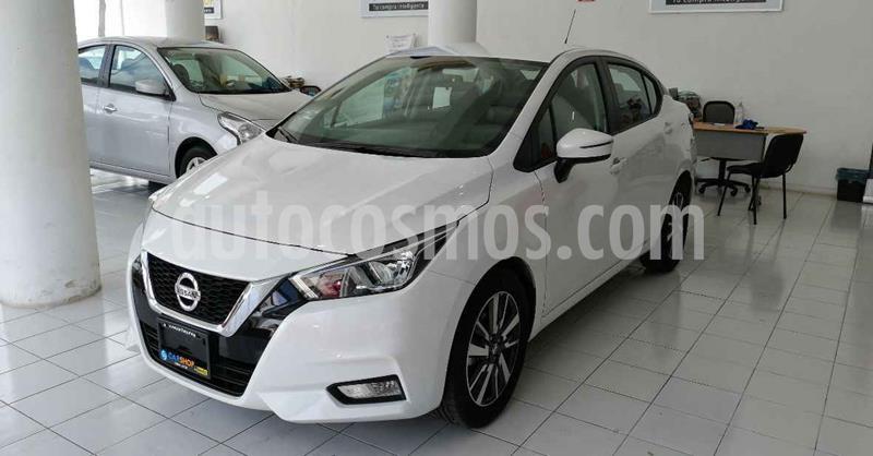 Nissan Versa Advance usado (2020) color Blanco precio $252,000