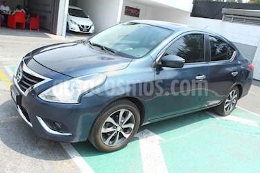 Nissan Versa 4p Exclusive L4/1.6 Aut usado (2016) color Azul precio $165,000