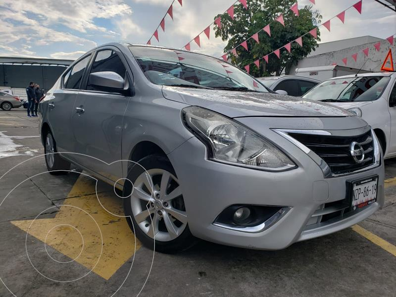 Foto Nissan Versa Advance Aut usado (2015) color Plata precio $149,800