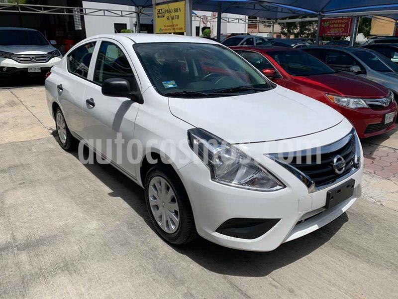 Nissan Versa Drive usado (2019) color Blanco precio $189,900