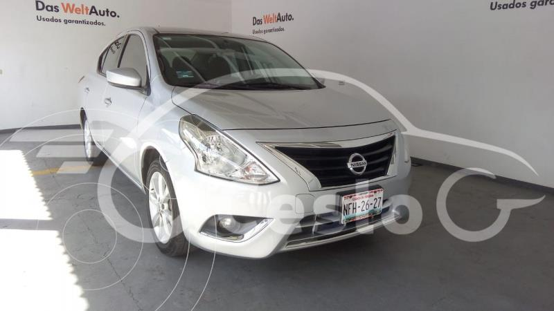 Foto Nissan Versa ADVANCE L4 1.6L AT usado (2018) color Plata precio $199,000