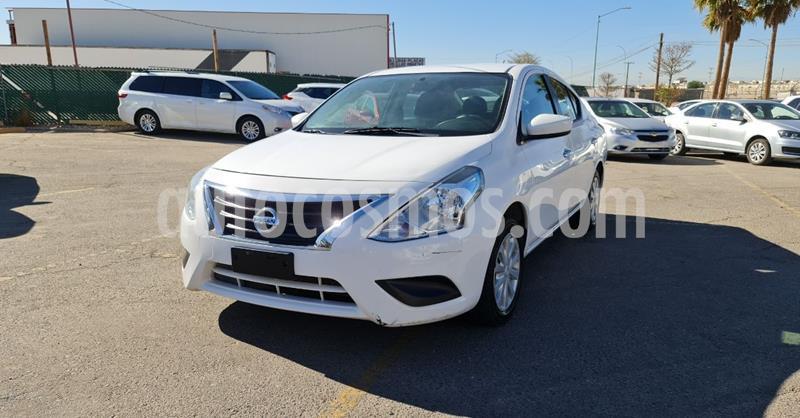 Nissan Versa Sense Aut usado (2018) color Blanco precio $149,900