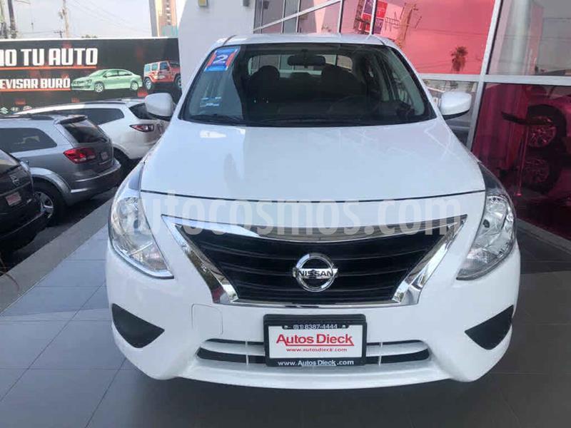 Nissan Versa Sense Aut usado (2019) color Blanco precio $199,000