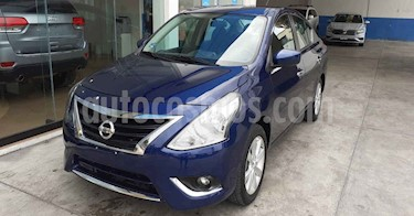 Nissan Versa 4p Advance L4/1.6 Aut usado (2018) color Azul precio $177,800
