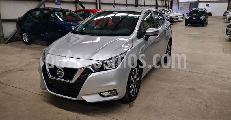 Nissan Versa Advance usado (2020) color Plata Dorado precio $259,900