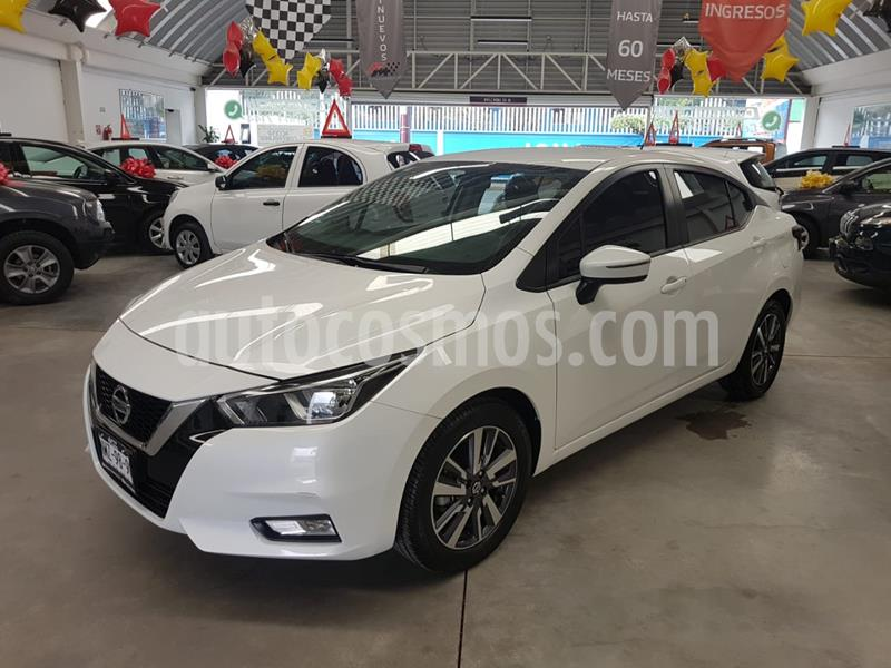 Nissan Versa Advance usado (2020) color Blanco precio $249,000