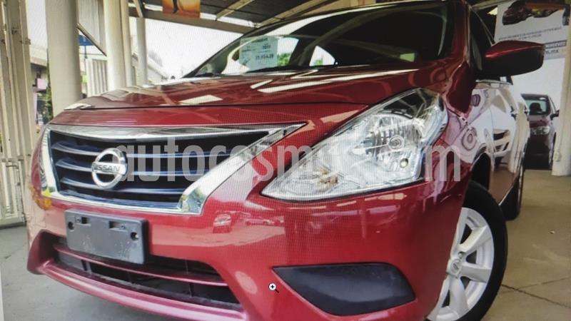 Nissan Versa Sense Aut usado (2019) color Rojo precio $179,000