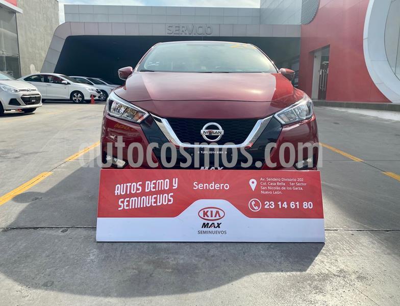 Nissan Versa Advance usado (2020) color Rojo Cobrizo precio $269,900