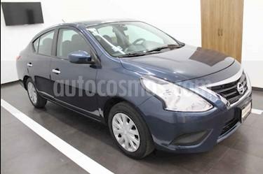 Foto Nissan Versa Sense Aut usado (2018) color Azul precio $139,000