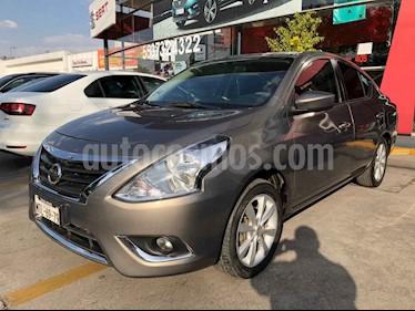 Nissan Versa 4p Advance L4/1.6 Man usado (2015) color Cafe precio $126,990