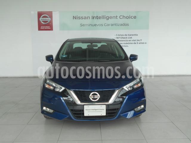 Nissan Versa 4P EXCLUSIVE L4/1.6 AUT usado (2020) color Azul precio $285,000