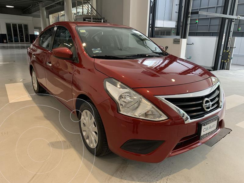 Foto Nissan Versa Sense usado (2015) color Rojo precio $149,900