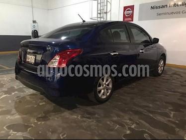 Nissan Versa 4P SENSE TM5 A/AC. VE. usado (2019) color Azul Marino precio $220,000