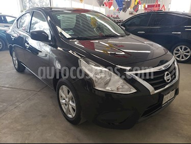 Nissan Versa Sense usado (2019) color Negro precio $199,000