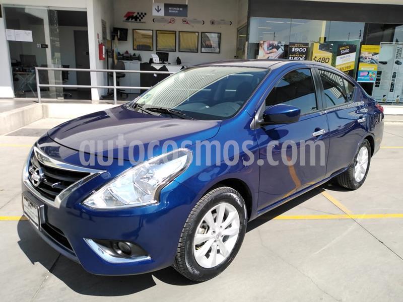 Nissan Versa Advance usado (2019) color Azul precio $225,000