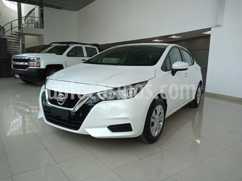 Nissan Versa Sense Aut usado (2020) color Blanco precio $255,000