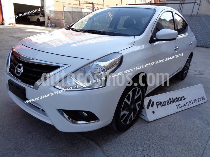 Nissan Versa Advance usado (2019) color Blanco precio $199,000