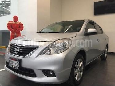 Nissan Versa 4P ADVANCE L4/1.6 AUT usado (2012) color Plata precio $135,500
