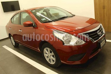 Nissan Versa 4p Sense L4/1.6 Man usado (2019) color Rojo precio $215,000