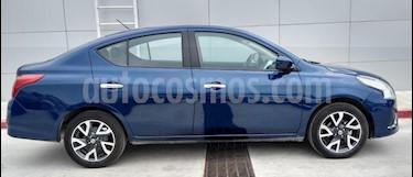 Nissan Versa Advance Aut usado (2019) color Azul precio $225,000