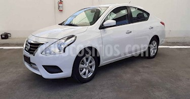 Nissan Versa 4p Sense L4/1.6 Aut usado (2019) color Blanco precio $182,900