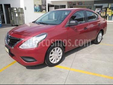 Nissan Versa Drive usado (2017) color Rojo precio $160,000