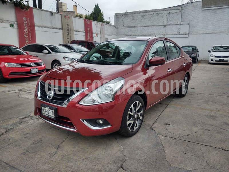 Foto Nissan Versa Exclusive Aut usado (2016) color Rojo precio $169,000