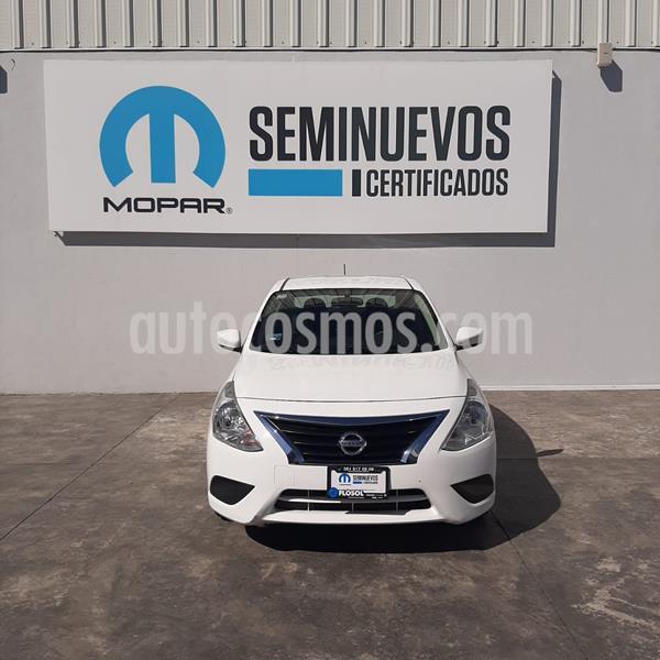 Nissan Versa Sense Aut usado (2018) color Blanco precio $165,000