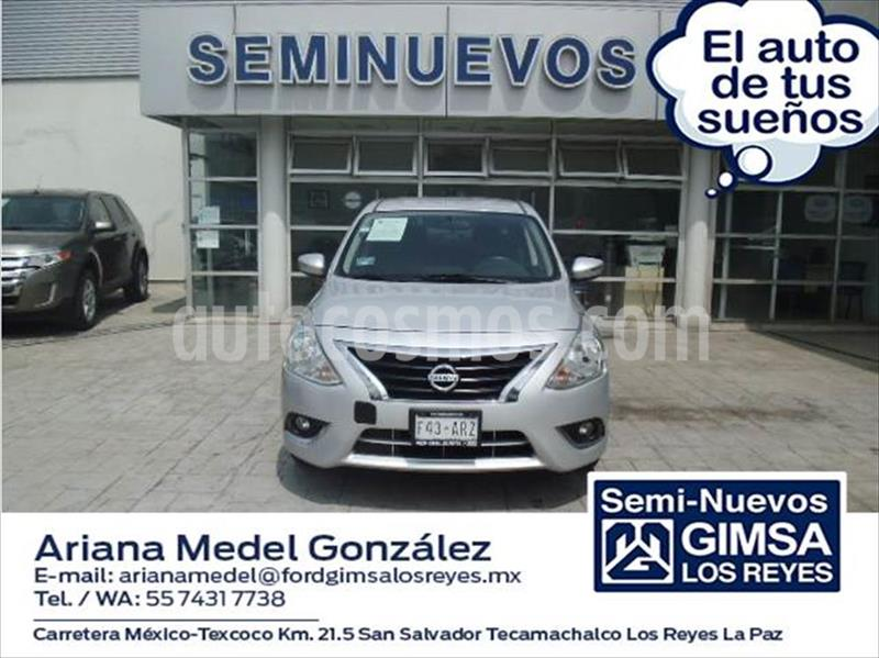 Nissan Versa EXCLUSIVE NAVI AT 1.6L usado (2018) color Plata precio $195,000