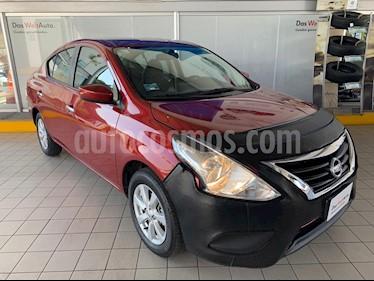 Nissan Versa Sense usado (2019) color Rojo precio $199,900