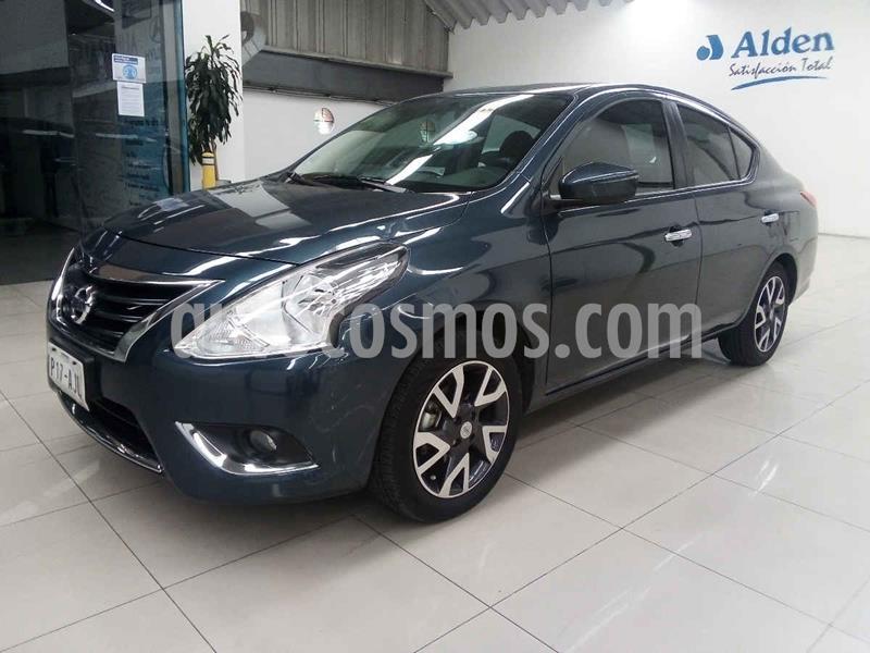 Nissan Versa Exclusive Aut usado (2016) color Azul precio $170,000