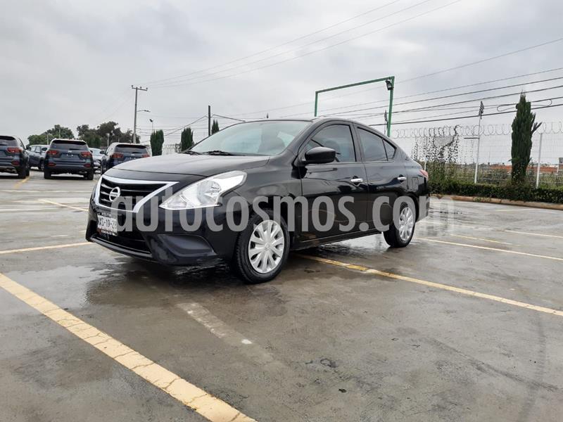 Nissan Versa Sense Aut usado (2015) color Negro precio $142,000