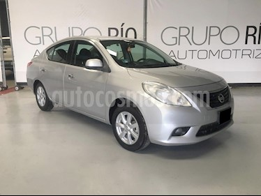 Nissan Versa Advance Aut  usado (2014) color Acero precio $129,000