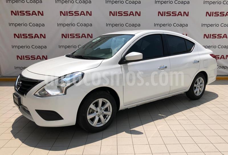 Nissan Versa Sense usado (2019) color Blanco precio $209,000