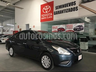 Nissan Versa 4P SENSE AT A/AC. VE. usado (2016) color Azul precio $130,000