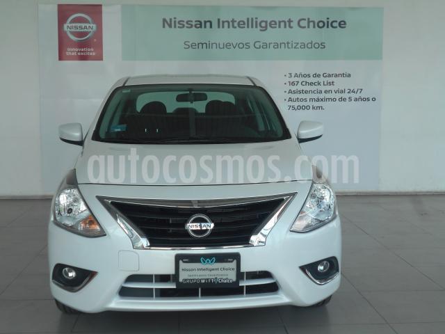 Nissan Versa 4P ADVANCE L4/1.6 AUT usado (2019) color Blanco precio $266,200
